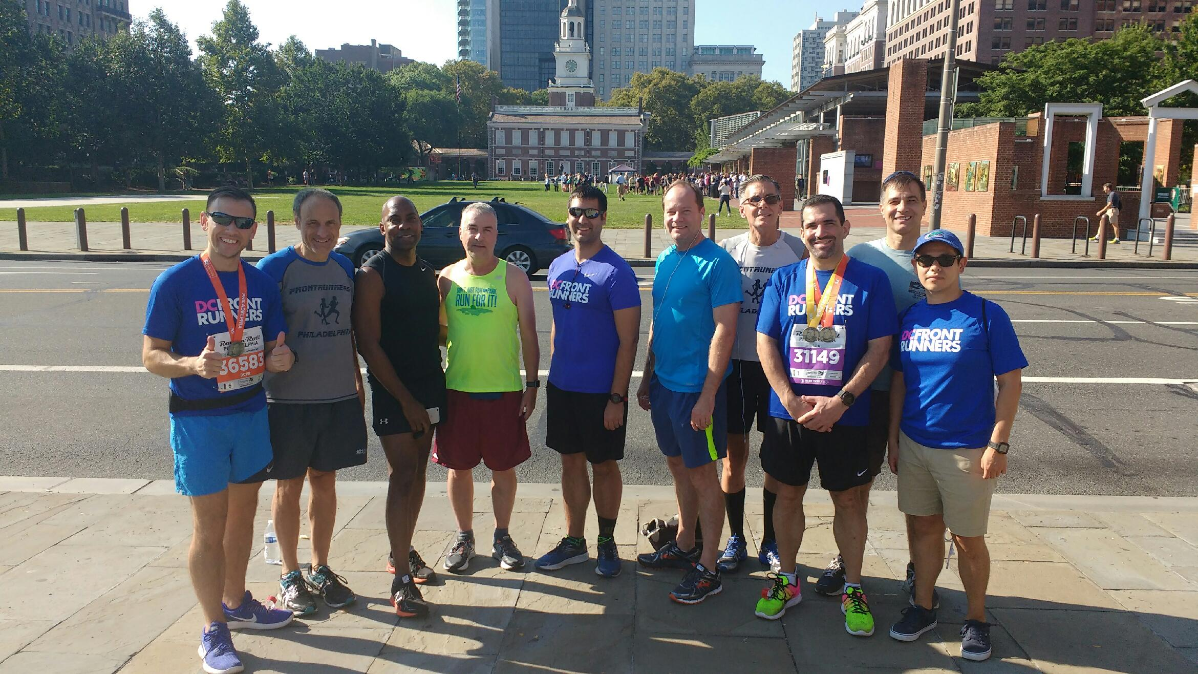 BenFranklinBridgeRun 9/16/2017